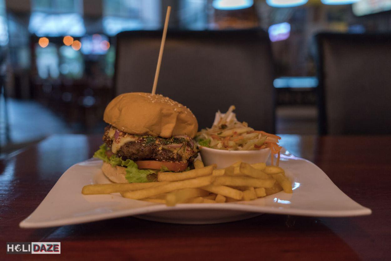 Cheeseburger in Bangkok