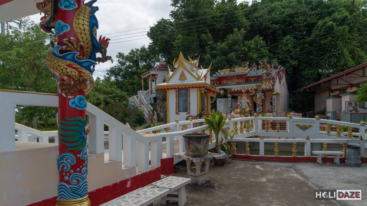 Chao Pho To Kong Shrine is a unique and off the beaten path destination in Rayong province, Thailand