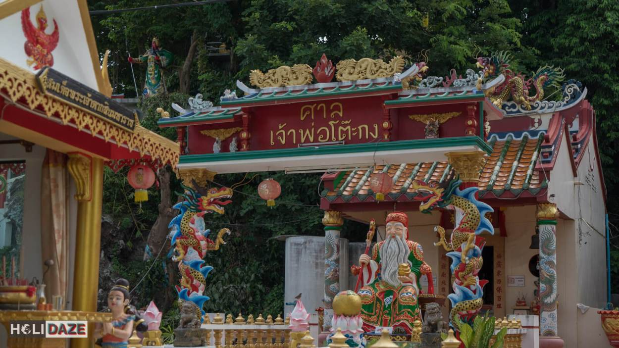 Chao Pho To Kong Shrine in Rayong province, Thailand