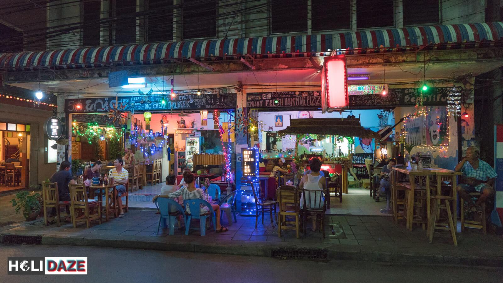 The awesome Enjoy BKK Bistro and Bar in Bangrak, Bangkok, Thailand
