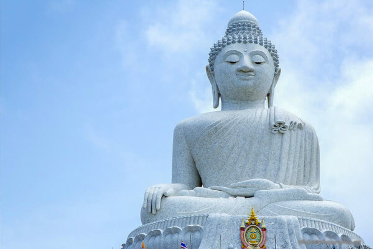 Visiting the Big Buddha is one of the obligatory things to do in Phuket, Thailand