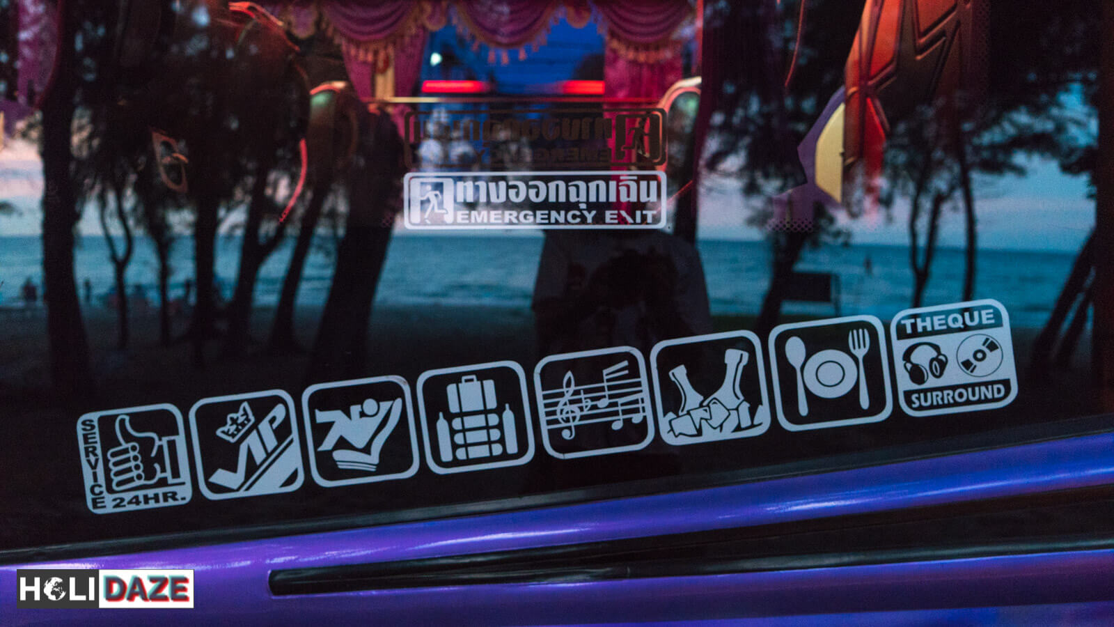 The buses in Thailand come loaded with all the amenities you need for a comfortable journey