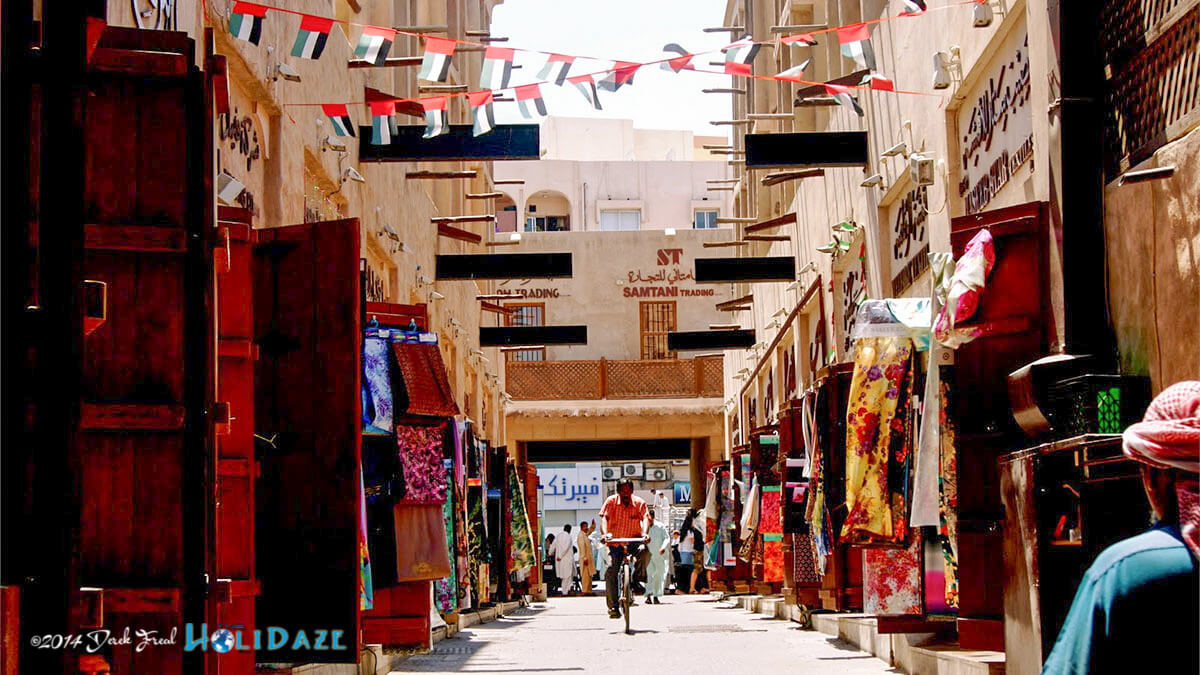 Stroll through historic Bastakiya, one of the best free things to do in Dubai