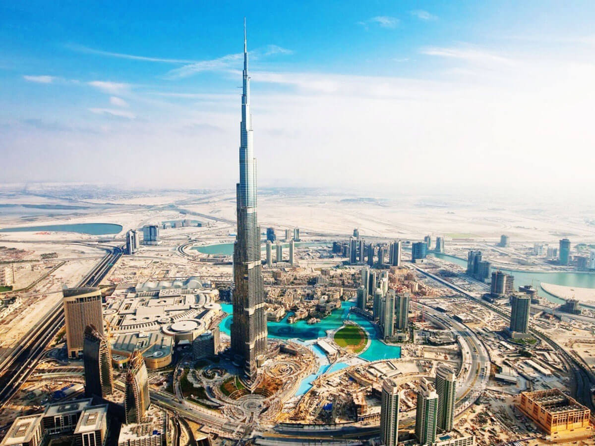 Burj Dubai, United Arab Emirates, the tallest building in the world and one of the must see places before you die