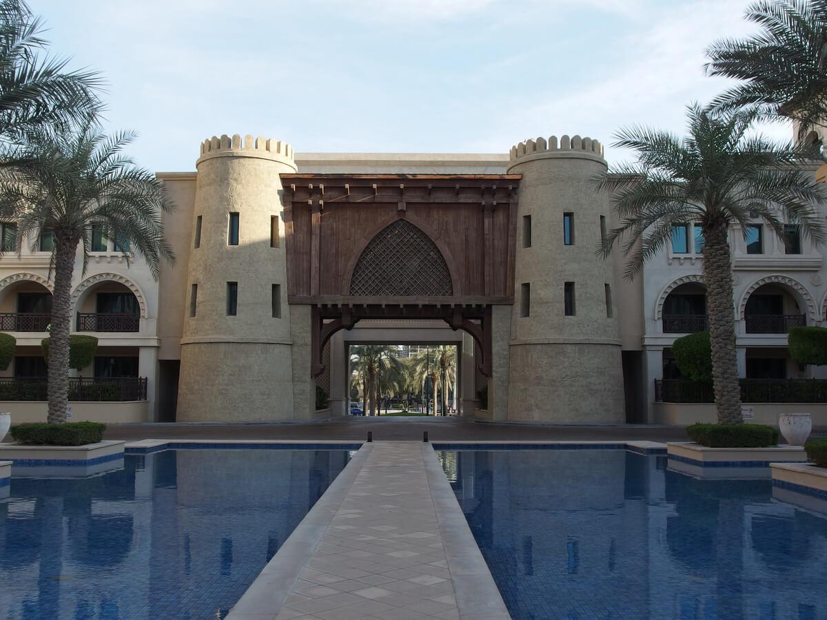 The Dubai Palace Hotel in the United Arab Emirates