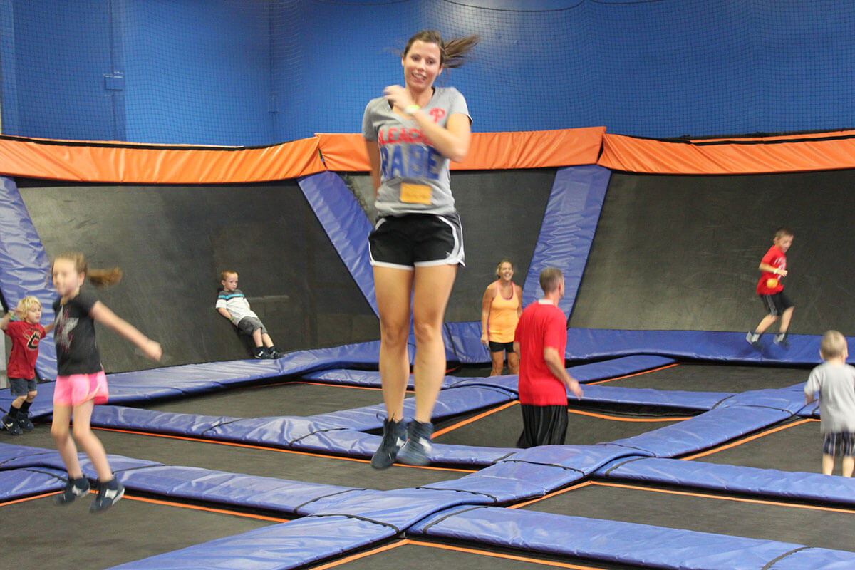 Sky Zone Indoor Trampoline Park, one of the offbeat Anaheim, California activities