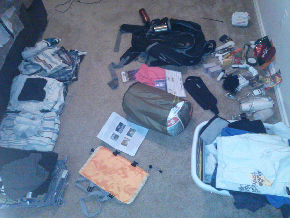 The gear I will be taking with me on my RTW adventure