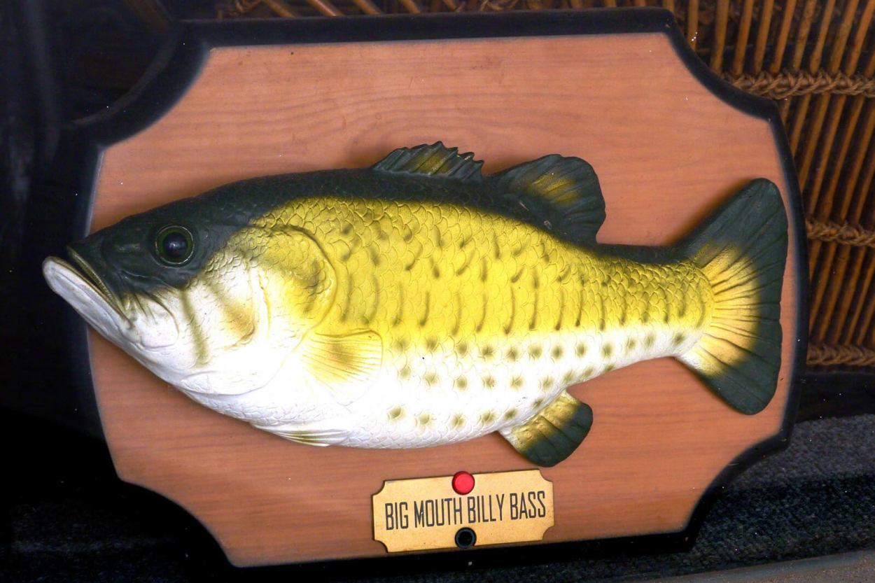The world's first and only Billy Bass adoption center is one of the unique and offbeat Arlington, Texas activities