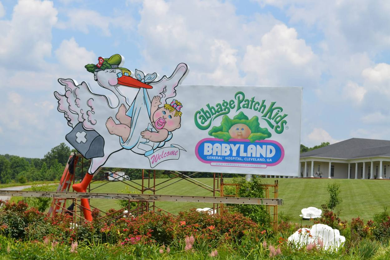 The Cabbage Patch Kids Babyland Hospital is one of Georgia's most unique places to visit