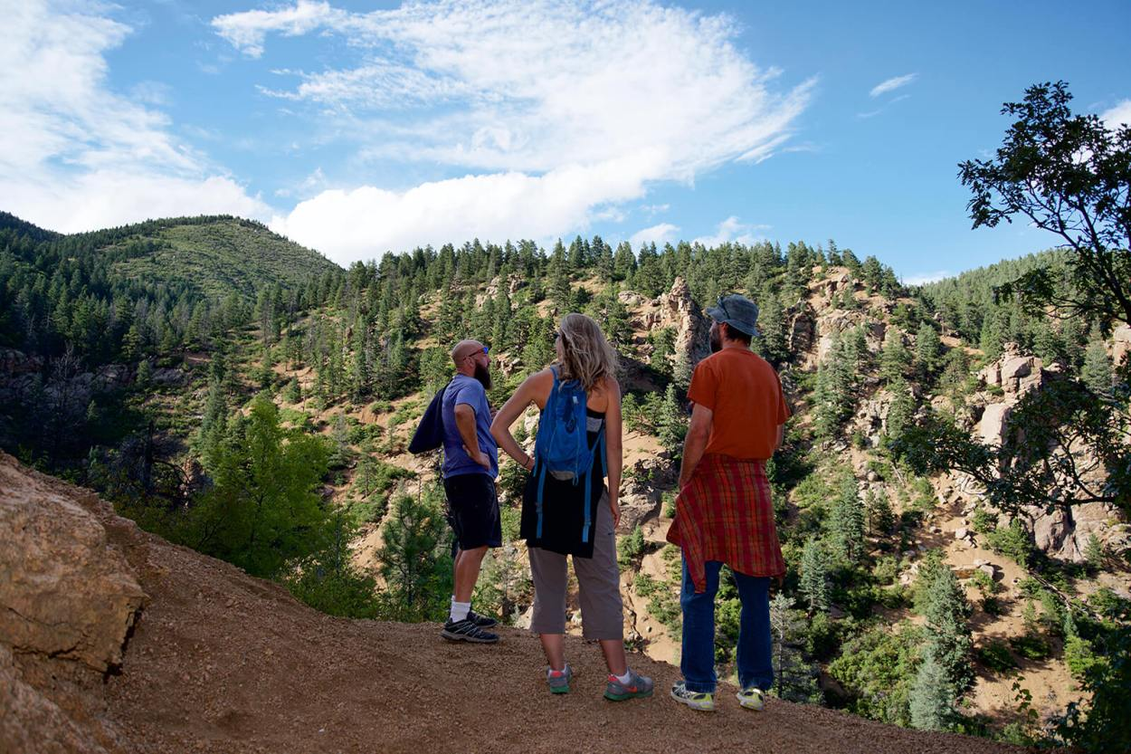Experience the offbeat Colorado Springs by hiking and exploring one of the overlooked mountains near Pike's Peak