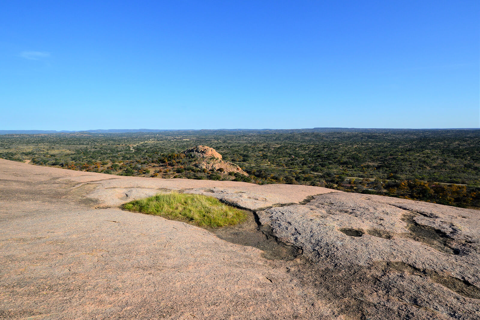 Enchanted Rock State Park in Fredericksburg, Texas