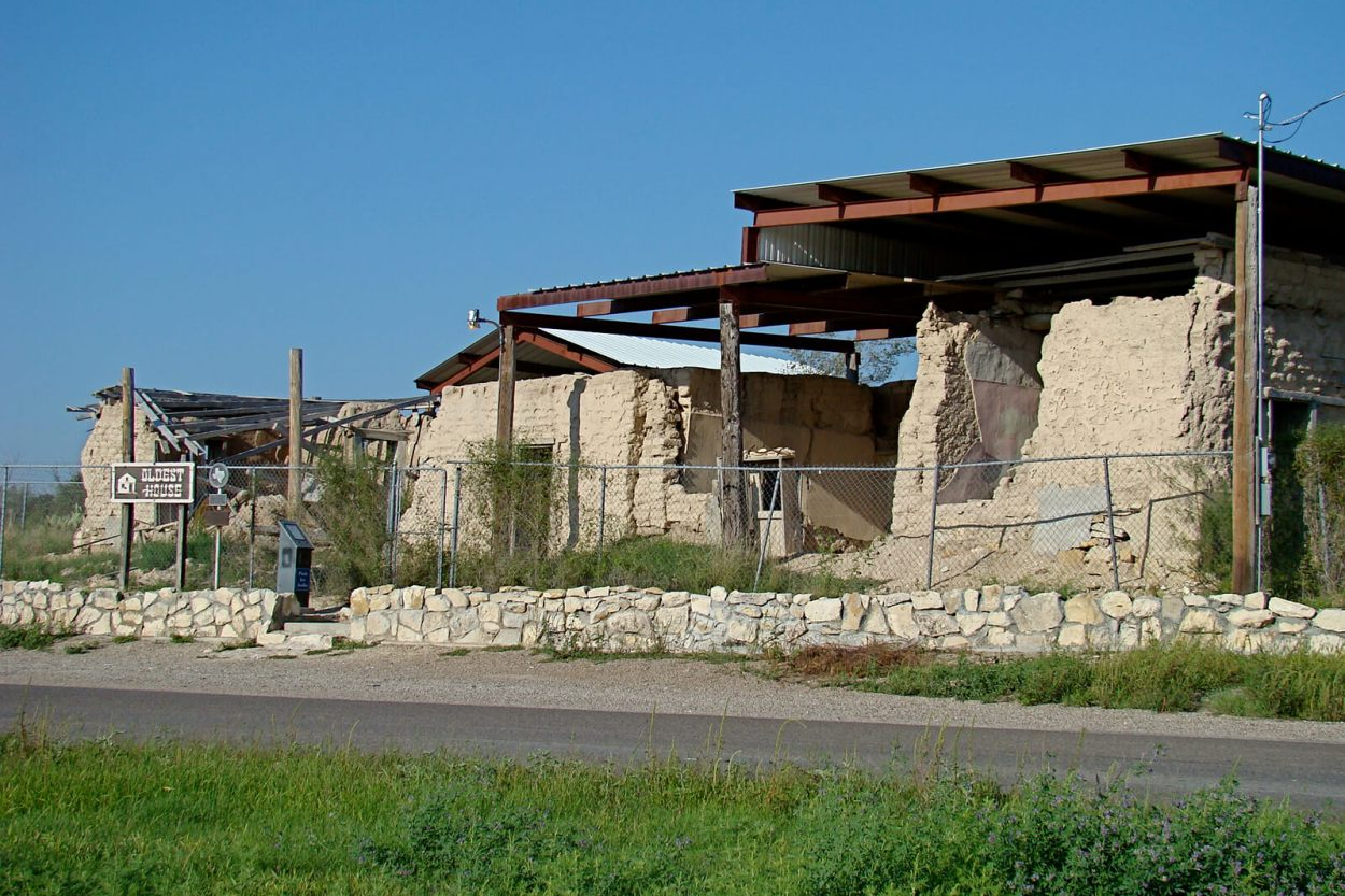 The oldest house in Fort Stockton, Texas