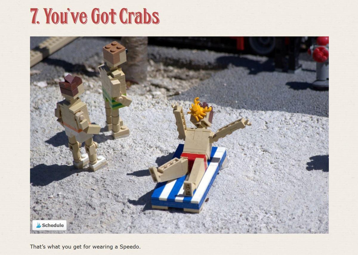 12 mildly disturbing scenes from Legoland, Florida