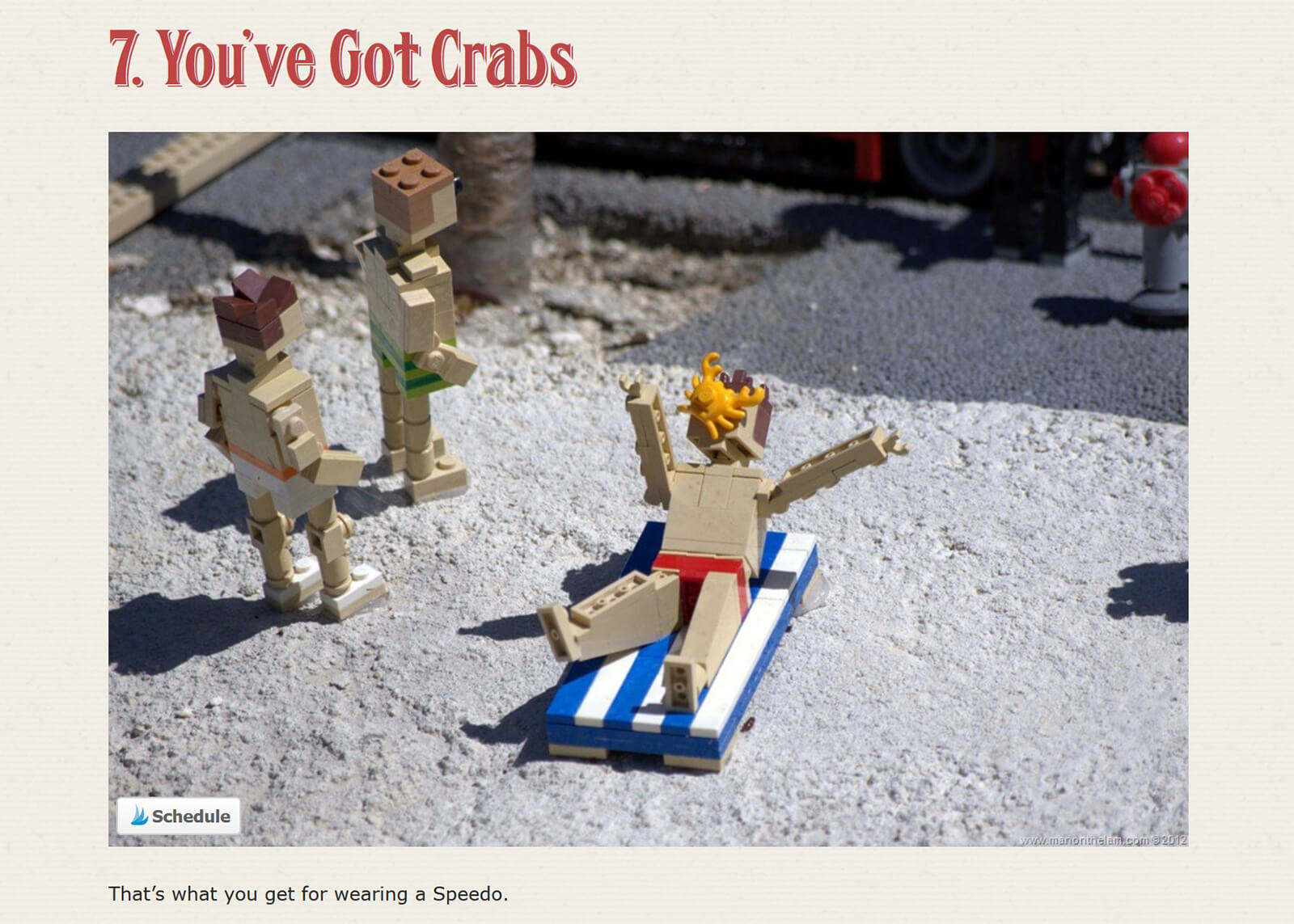 12 mildly disturbing scenes from Legoland, Florida