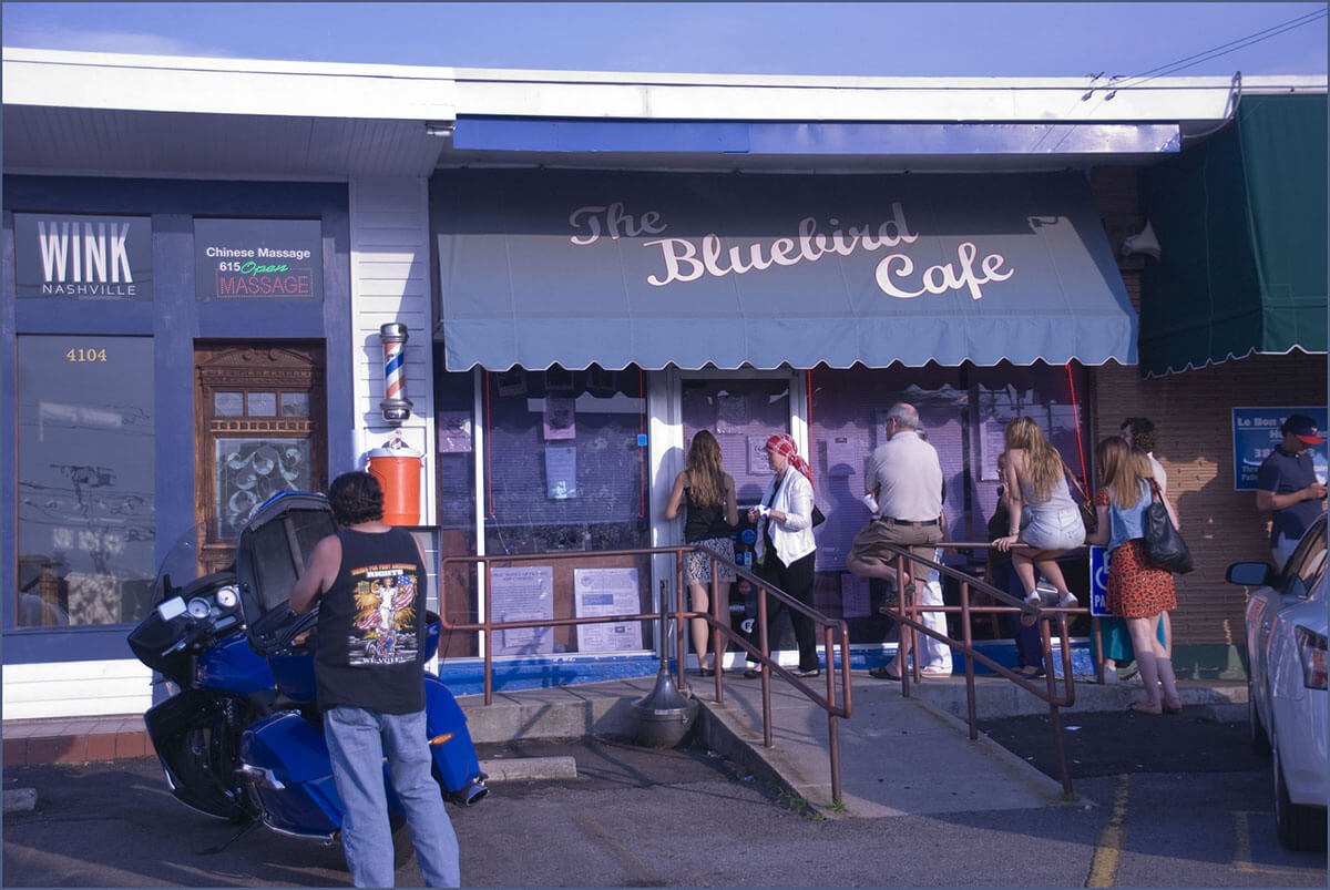 The famous Bluebird Cafe is the most overlooked and offbeat Nashville music venue