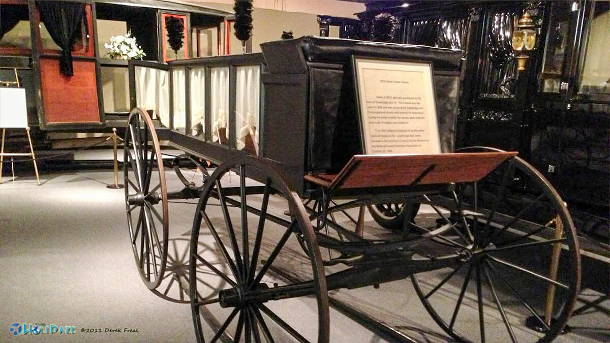 National Museum of Funeral History is one of the most unique and offbeat Houston activities