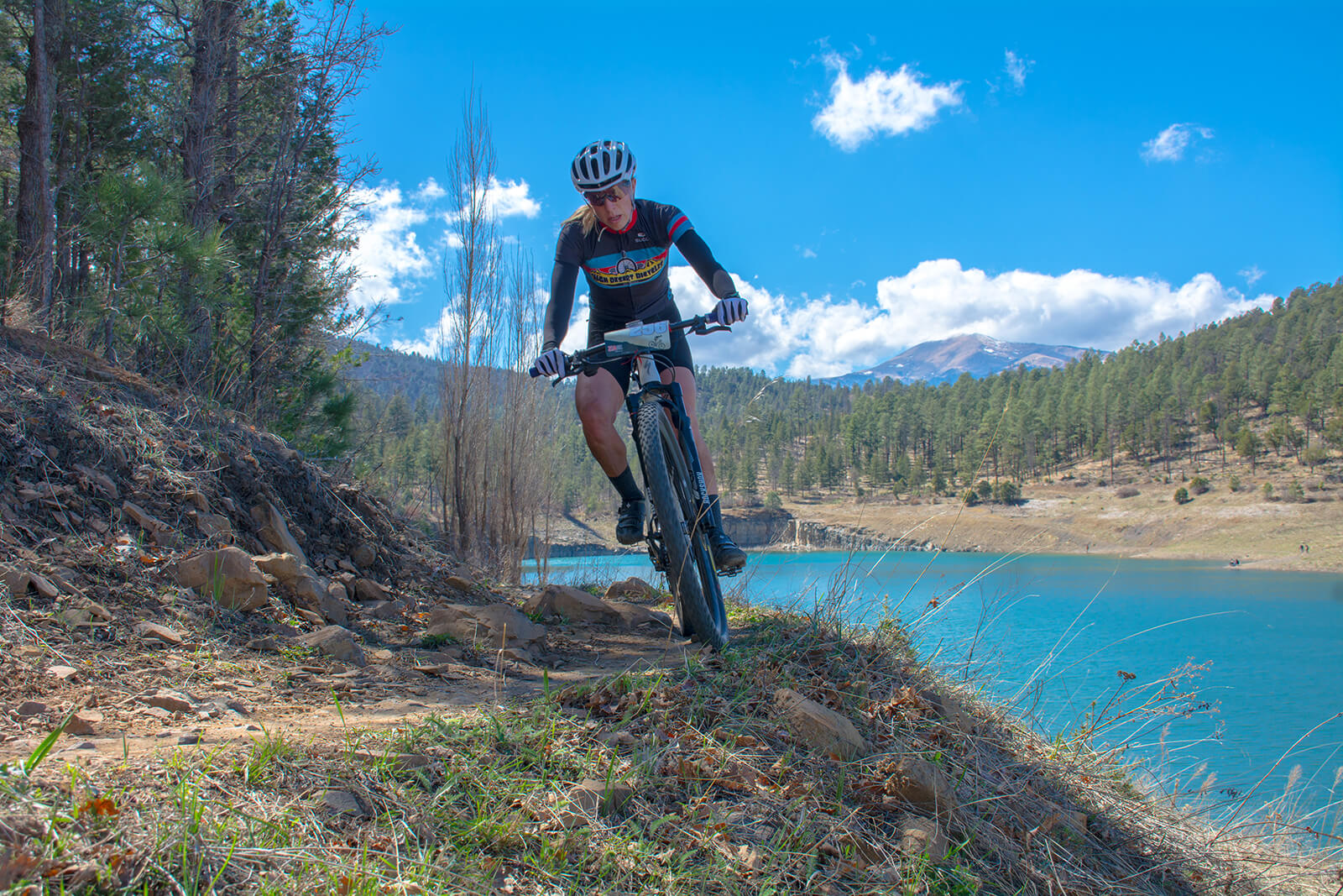 Mountain biking around Grindstone Lake is one of the best outdoor activities in Ruidoso, New Mexico