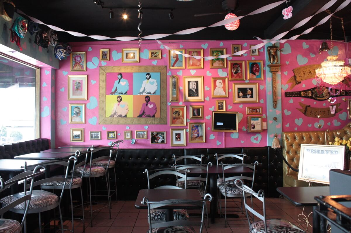 Lucha Libre restaurant is one of the most offbeat San Diego restaurants you can find