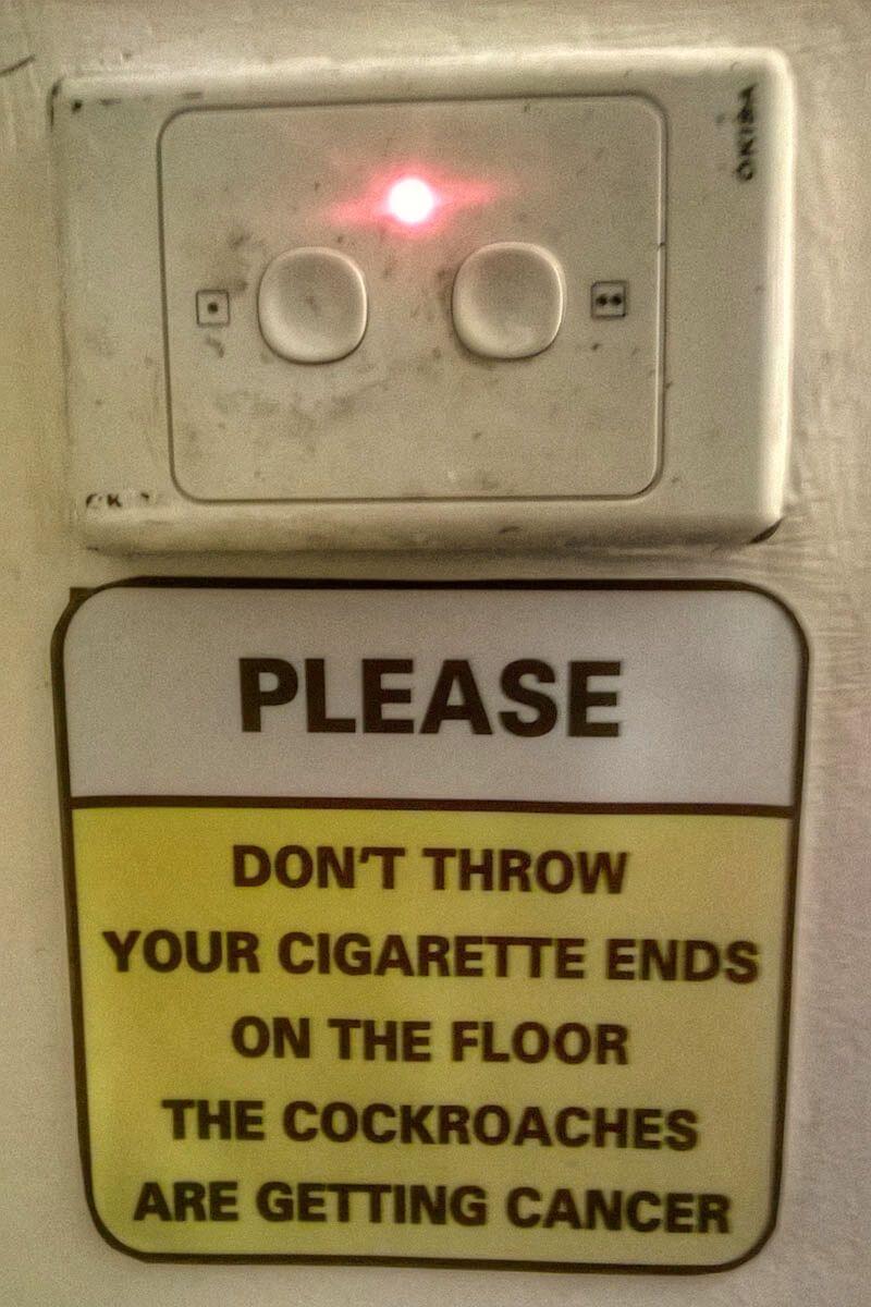 Hilarious sign in Vietnam