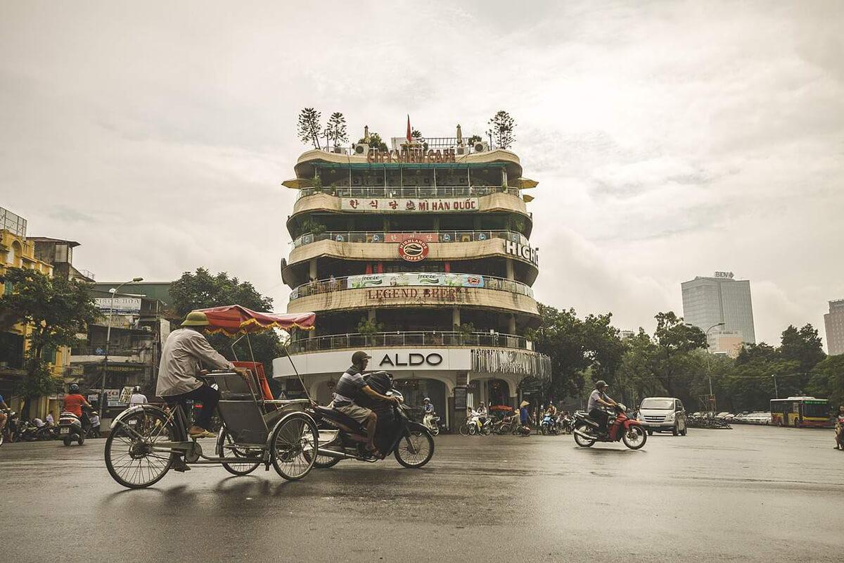 Hoan Kiem District in Hanoi