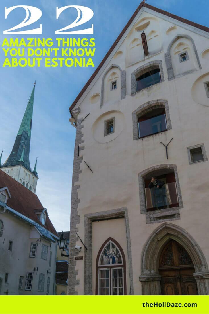 22 amazing things you don't know about Estonia #travel #traveltips #estonia #tallinn #unesco