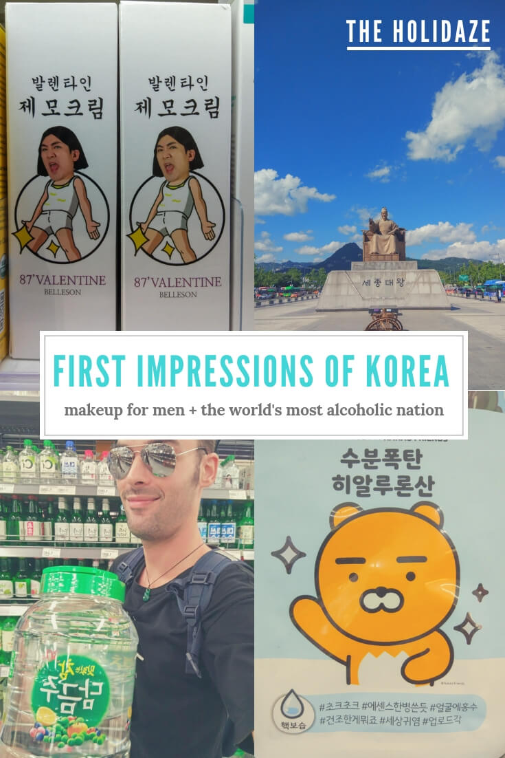 Shocking first impressions of Korea revealed -- welcome to the most cute, drunk and fake country on earth #travel #traveltips #korea #southkorea #makeup
