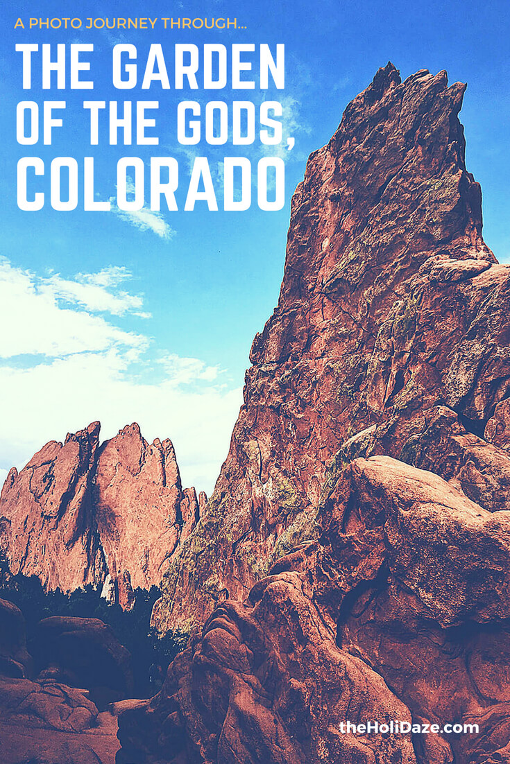 Hiking and exploring the Garden Of The Gods in Colorado Springs #budgettravel #colorado #traveltips #usa #free #coloradosprings #travelguide #outdoors #nature #holidaze #travel
