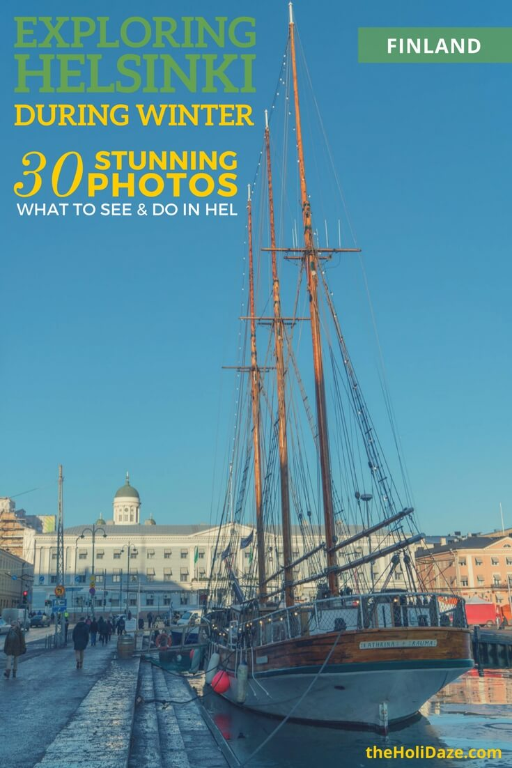 Exploring Helsinki in the winter -- 30 stunning photos of the best things to see and do!