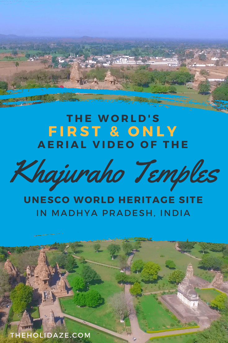 The world's first and only aerial video of the Khajuraho temples, one of the most impressive and overlooked #UNESCO sites in India #incredibleindia #travel #madhyapradesh #india #drone #video