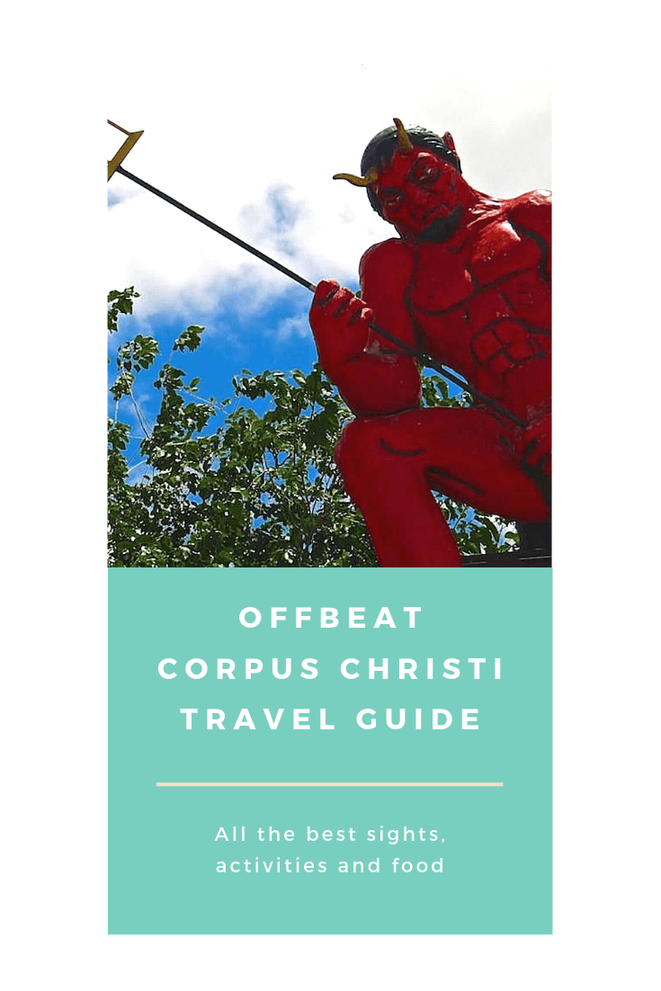 The top 10 strange, unique and offbeat sights and activities in Corpus Christi, Texas #travelguide #offbeat #traveltips #corpuschristi #texas #holidaze #budgettravel #traveldifferent
