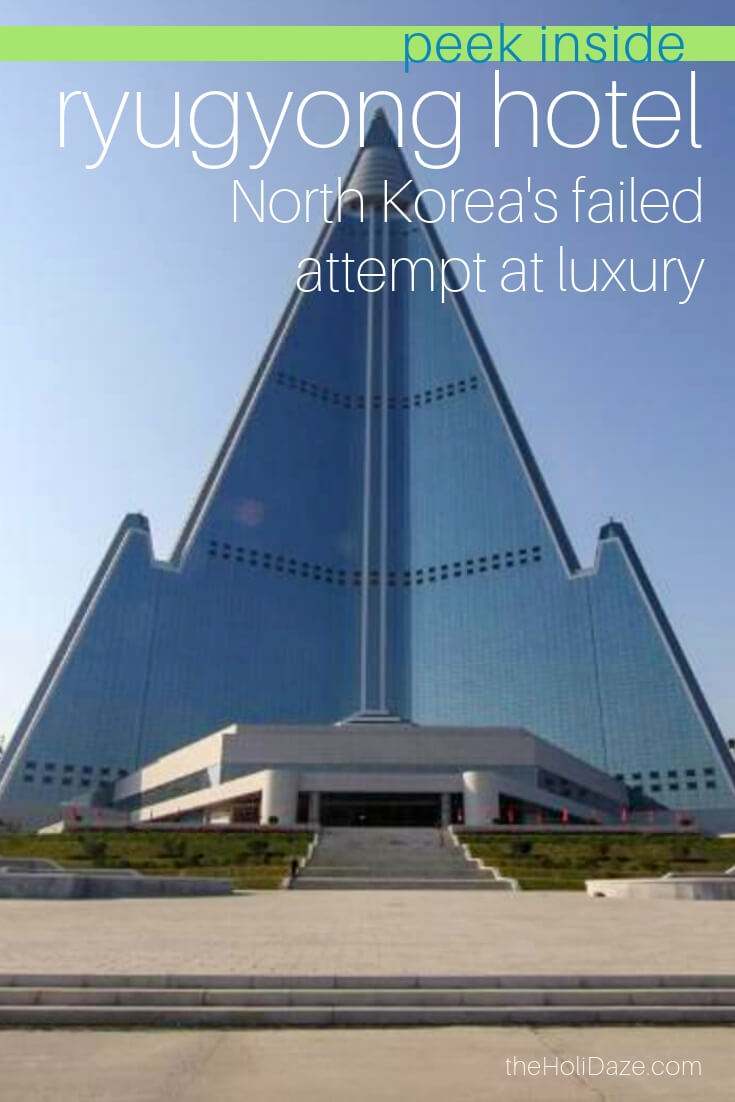 Explore inside of Ryugyong Hotel in Pyongyang, North Korea's failed attempt at a #luxury #hotel in the capital city 😂 #travel #pyongyang #northkorea #korea #architecture #travelphotography #dprk