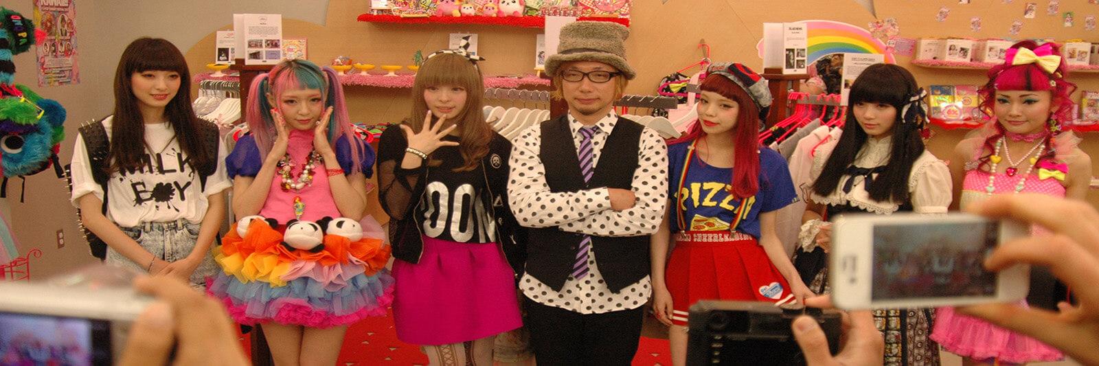 Harajuku Fashion Show in Tokyo