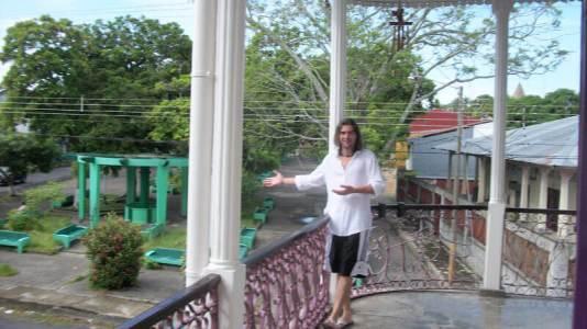 Derek Freal at the Perla del Pacifico, Costa Rica