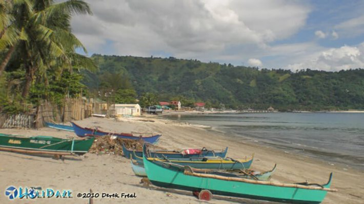 Mango's beach at Subic Bay in the Philippines