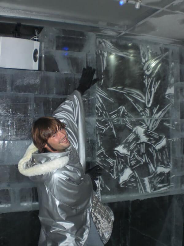 Absolut Ice Bar Tokyo, Japan