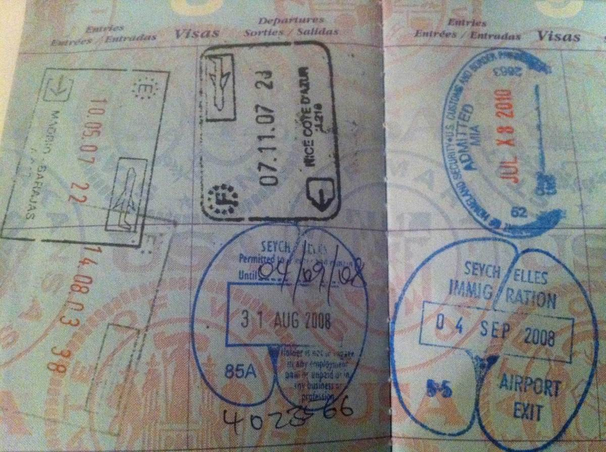 Passport stamps are like pokemon....got to catch them all!