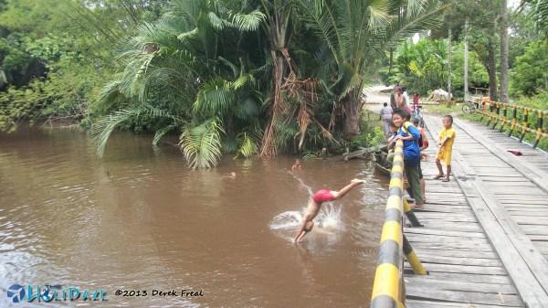 Local Kids Swimming