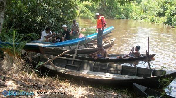 Traditional Sumatra Boat