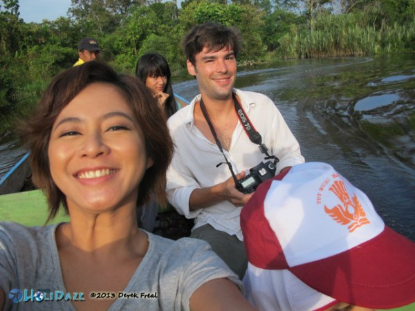 Boating On The Siak River