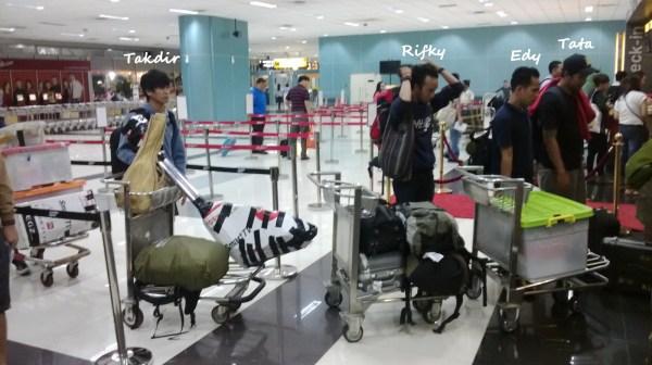 Baggage Checkin At Jakarta Airport