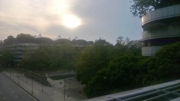View Outside Of KLIA
