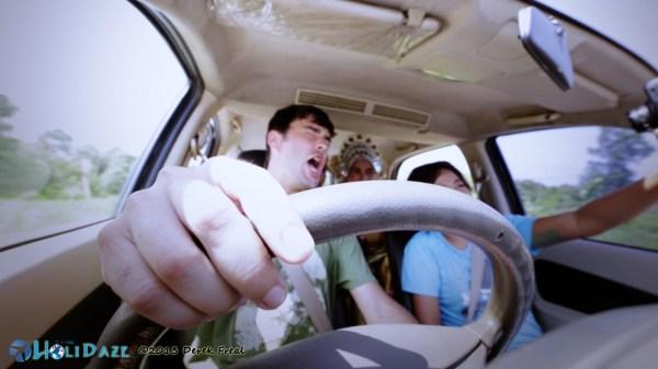 Driving Around Siak