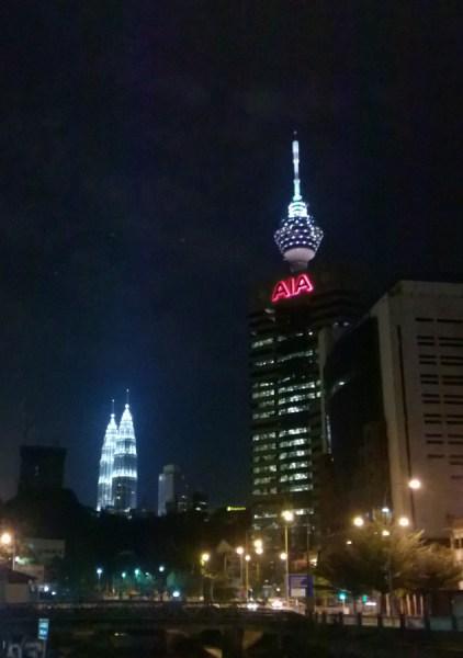 KL At Night