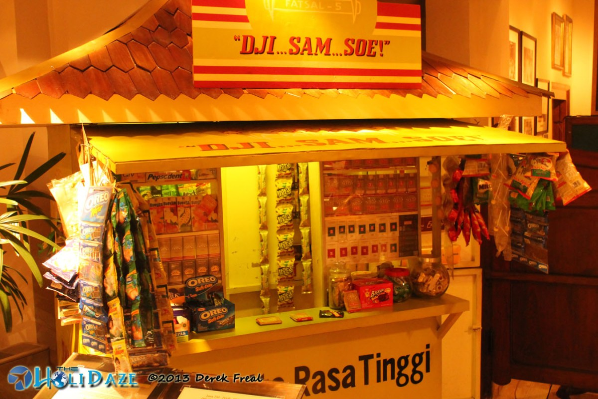 Old Style Cigarette Shop At House Of Sampoerna