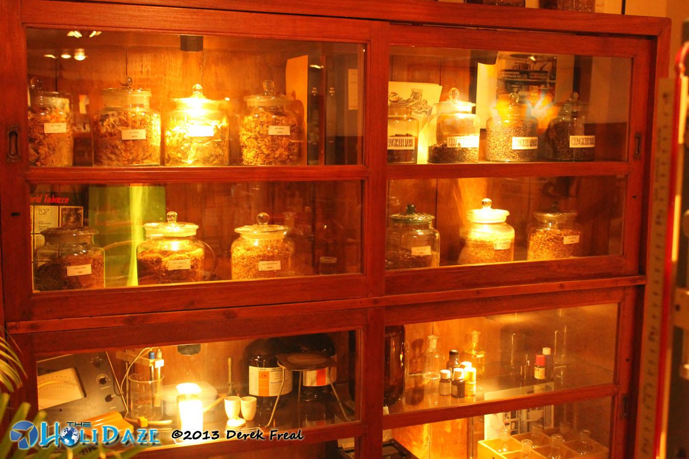 Classic Cigarette Laboratory Equipment At House Of Sampoerna