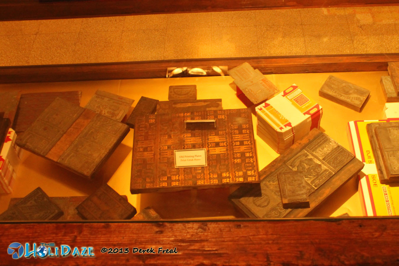 Old House Of Sampoerna Printing Plates