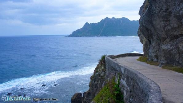 Cliff-side Road In Sabtang Island, Batanes