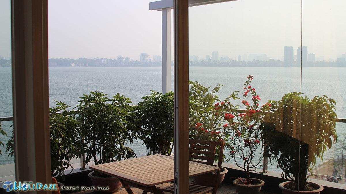 View From My Hanoi, Vietnam Apartment