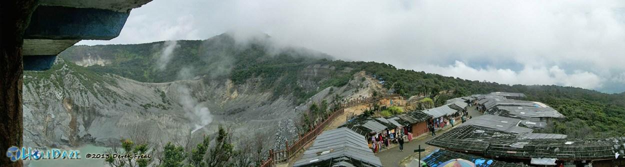 Landscape Photos: Tangkuban Parahu Volcano