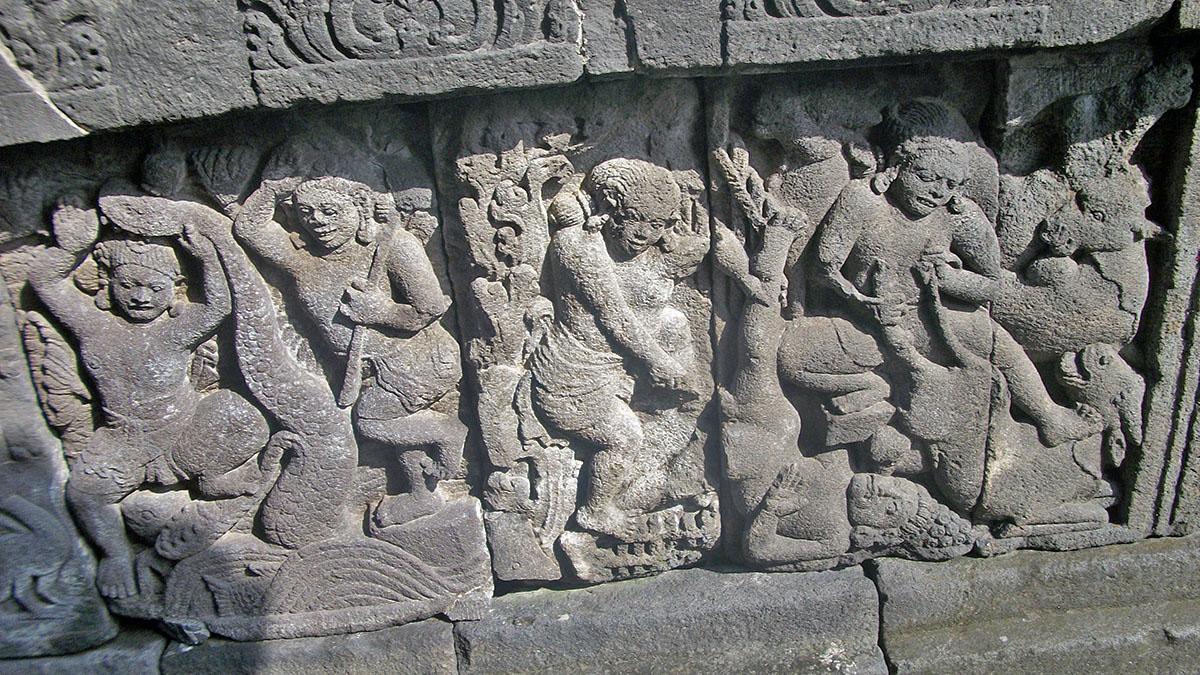 Kama Sutra Murals At Prambanan